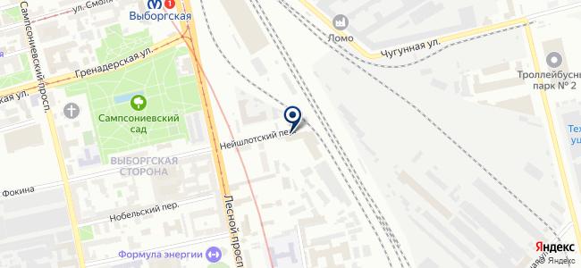 Искра-В на карте