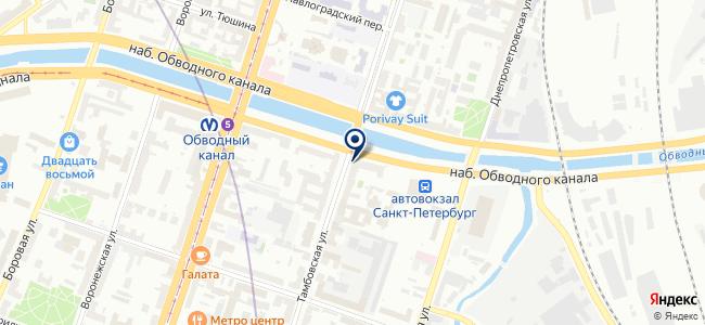 ГисСтрой на карте