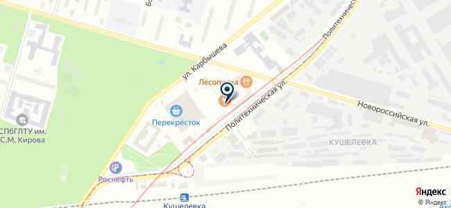 AllForLed на карте