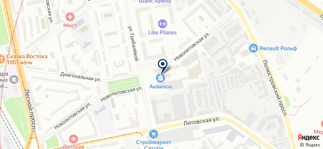 ХРПЗ-Балт-Инвест, ООО на карте