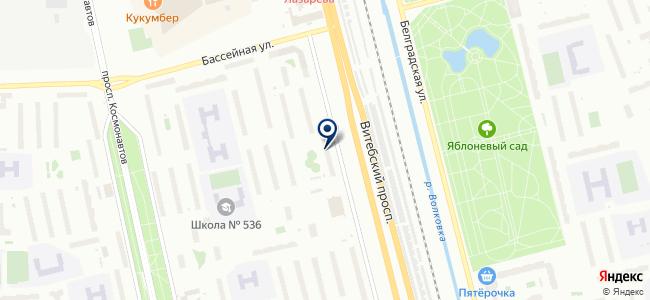 ЭРСТЕД на карте