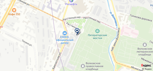 Созвездие на карте