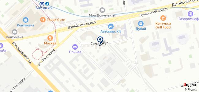 ЛенРемСтрой, ООО на карте