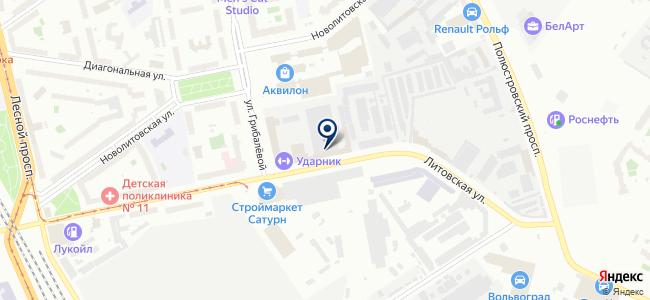 Гидроэлектромонтаж, ЗАО на карте