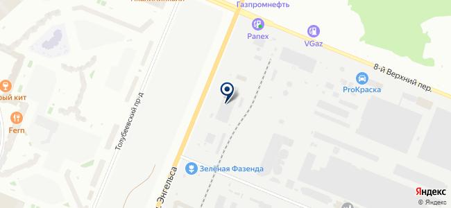 Нева Кабель, ЗАО на карте