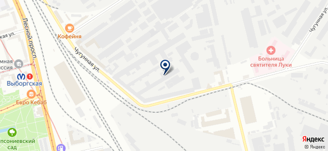 ОКБ Спектр, ЗАО на карте