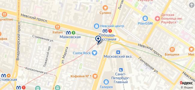 Джиар Консалтинг на карте