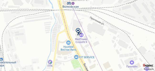 Точка Опоры Промэлектросвет, ЗАО на карте