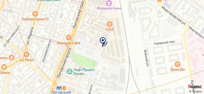 Геотраверс, ЗАО на карте