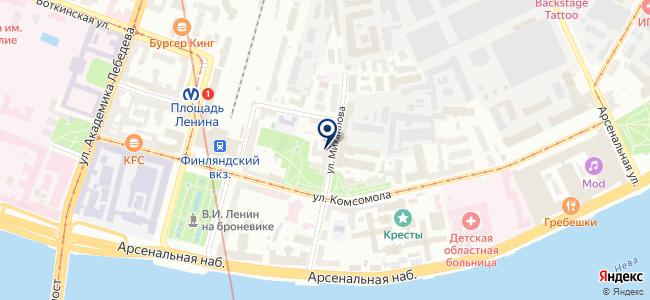 ИРК Проект на карте