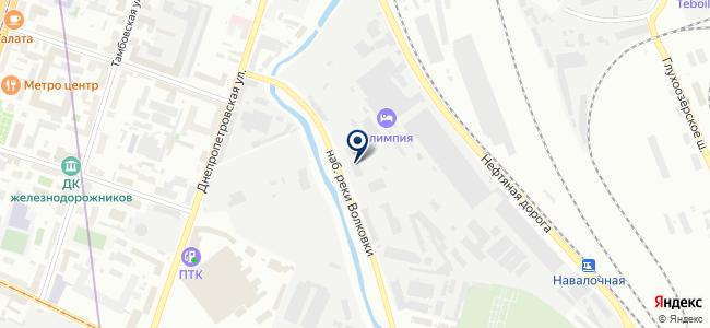 Интилед на карте