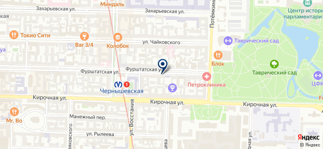 ПРОКС на карте
