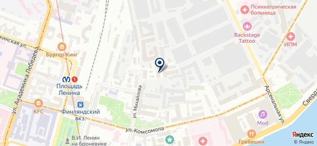 Ленстройпроект на карте