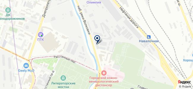 САРТОГОСМ, ЗАО на карте