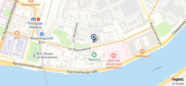 ЛОМО на карте