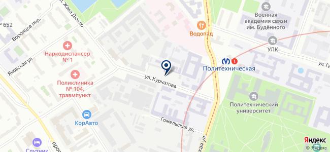 Севзаппром, ООО на карте
