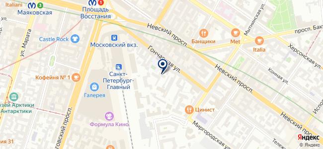 Мелиан на карте