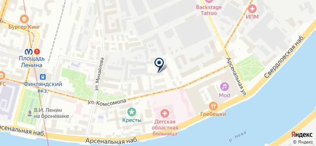 Пассат, ООО на карте