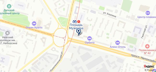 Магазин садово-хозяйственных товаров на проспекте Непокорённых, 2 на карте