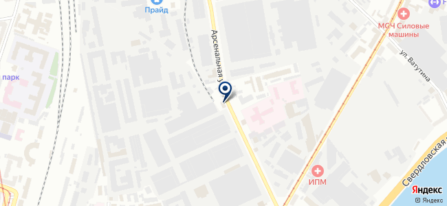 Проектинтертехника на карте