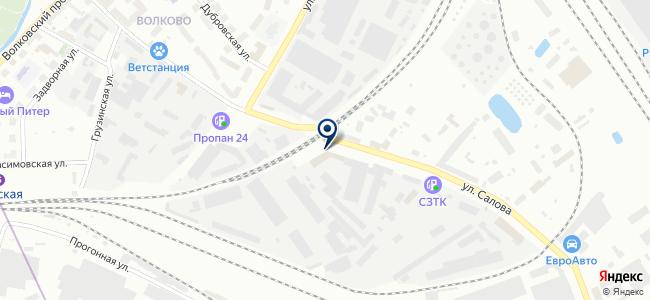 ПИК СПб, ООО на карте