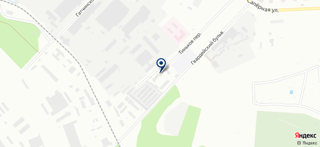 Пушкинский на карте