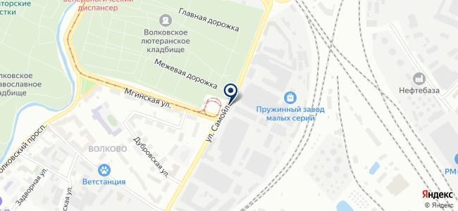 Век-Телеком на карте
