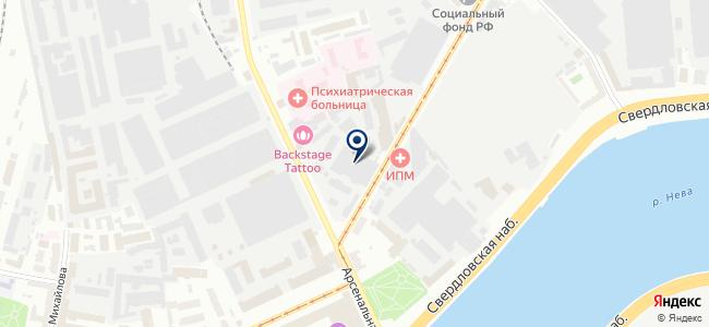 СКБ ИС, ОАО на карте