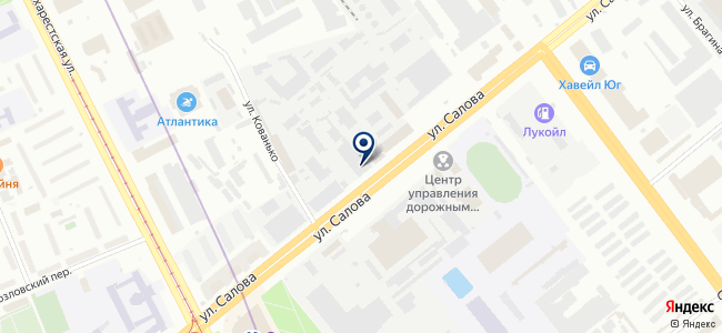 ТЕНДЕНТ на карте
