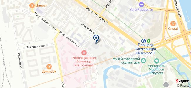 ПрофИнКом на карте