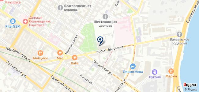 Инстрим, ООО на карте