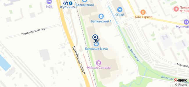Северный ветер на карте