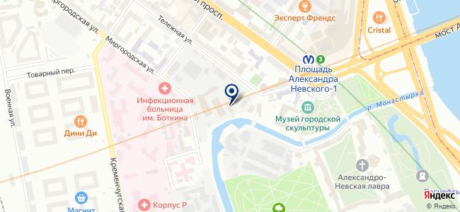 Электрико, ООО на карте
