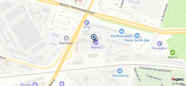 Теплолюкс Северо-Запад, ООО на карте