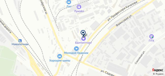 Балтоптторг, ООО на карте