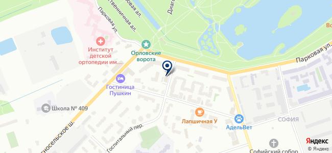 Санкт-Петербургская электротехническая компания на карте