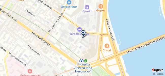 МегаСтрой-Нева, ООО на карте