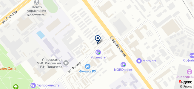 ПИБАДО на карте