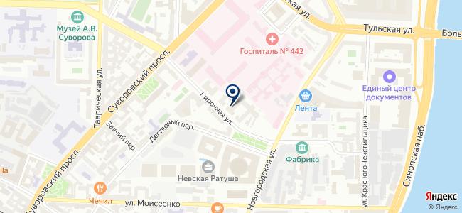 Технохим, ЗАО на карте