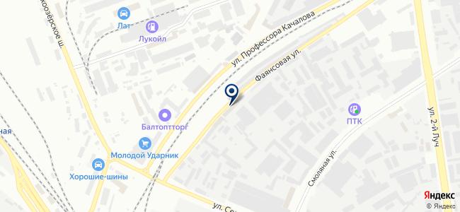 Ультраснаб, ООО на карте