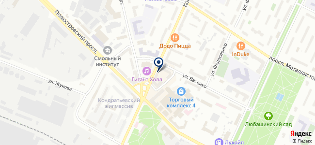 Магазин радиотоваров на ул. Васенко, 37 на карте