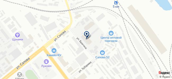 Элемент Сервис на карте