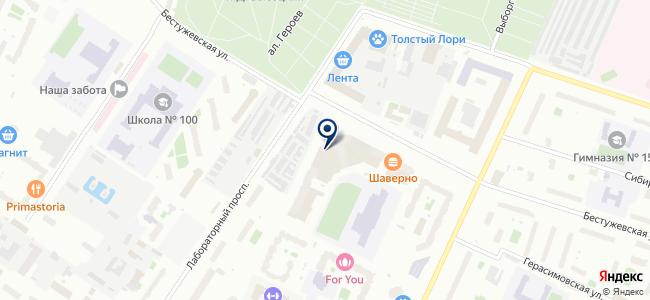 ПРОЕКТ-плюс на карте