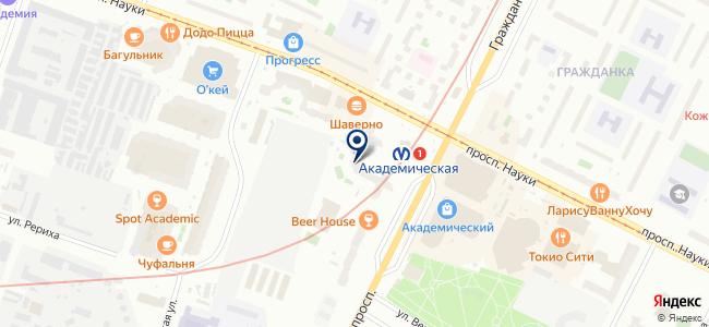 Проект Инжиниринг, ООО на карте