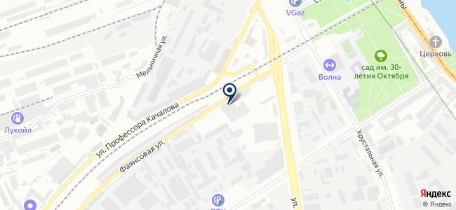 Инжектор Волга на карте