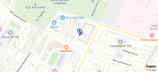 Авангард, ОАО на карте