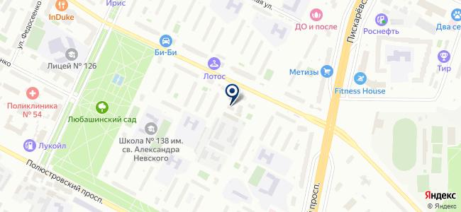 Мелиор на карте