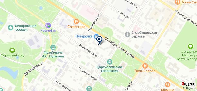Магазин радиотоваров и часов на Октябрьском бульваре, 7 на карте