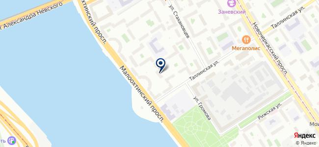 Балтприбор, ЗАО на карте
