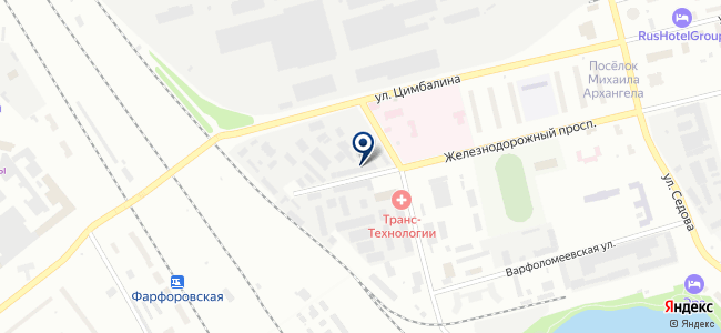 Нева-Транс Комплект на карте